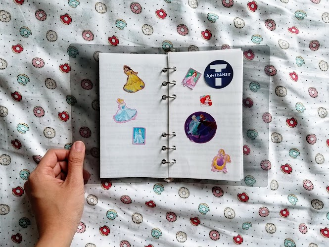 DIY Reusable Sticker Book / Sticker Album with Recycled Material