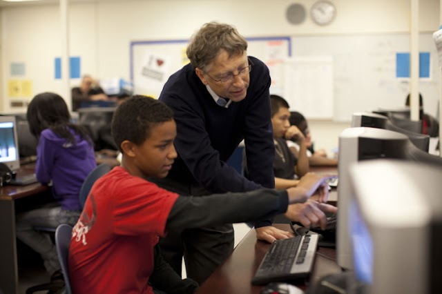 4 platforms used by Bill Gates to learn daily