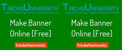 Make banner in 30 sec online[Free]