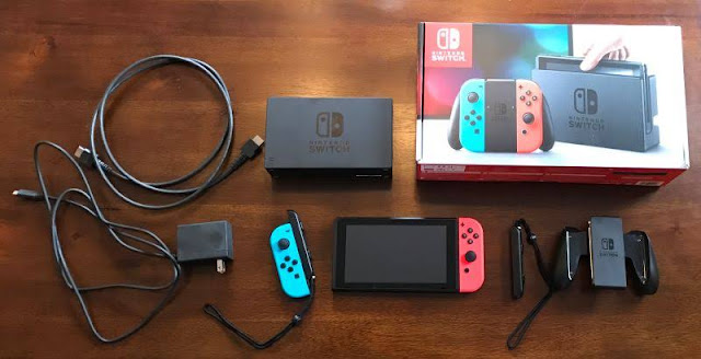 Check Out The Nintendo Switch ,Specs