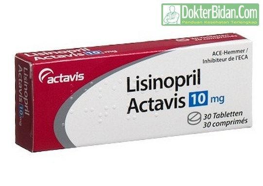 Lisinopril - Dosis Indikasi Efek Samping dan Manfaat Khasiat Fungsi Untuk Stroke dan Gagal Jantung