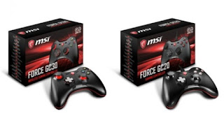 MSI Scrolls Force GC Series Force's Newest Game Controller Duo