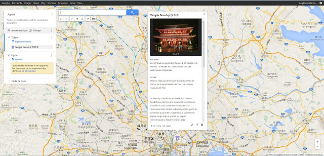 Voyage Google Maps