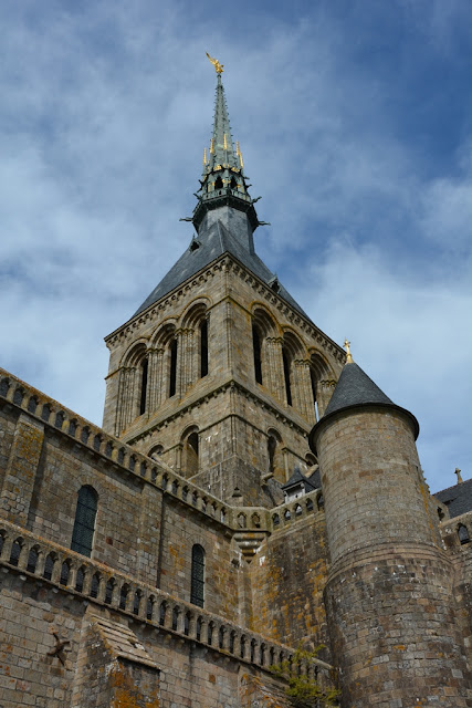 Abbey Mont Saint-Michel tower