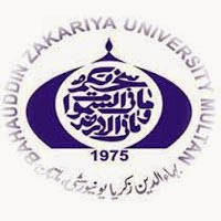 Bahauddin Zakariya University Multan MA Date Sheet 2017 Part 1, 2