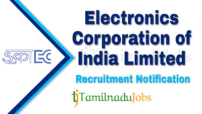 ECIL Recruitment 2019, ECIL Recruitment Notification 2019, Latest ECIL Recruitment,govt jobs in India