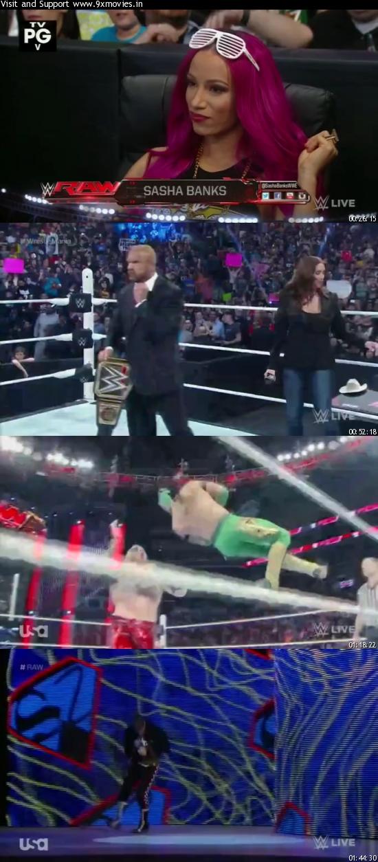 WWE Monday Night Raw 28 March 2016 HDTV 480p