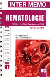 INTER MEMO HEMATOLOGIE