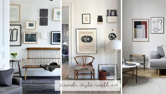 Appunti di casa wall art in stile nordico gli shop da for Casa in stile missione