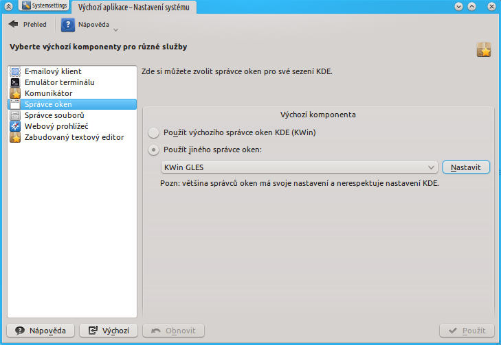 Next Time You Start Your Kde Session Will Be Using Kwin Gles