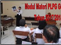 Modul Materi PLPG Guru SD Tahun 2017/2018