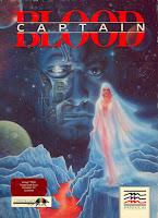 Arte gráfico de la cubierta del videojuego Captain Blood (Commodore Amiga, 1988)