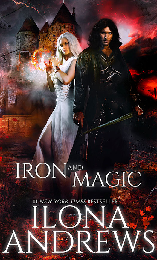The Qwillery Review Iron And Magic By Ilona Andrews