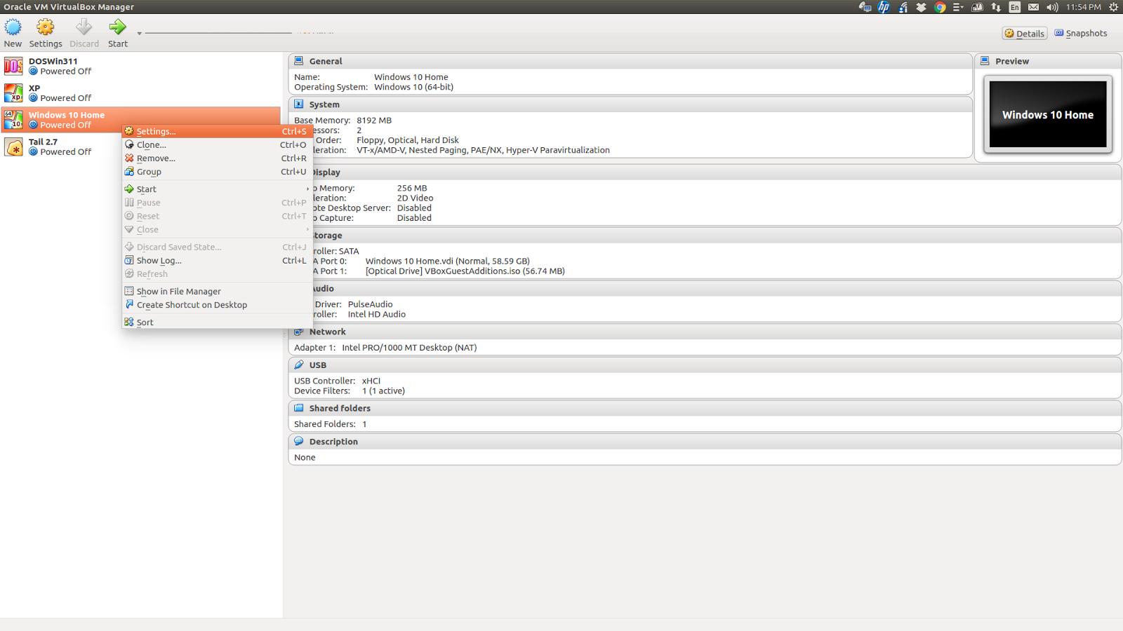 30 Days of Linux (and Beyond): Ubuntu 16 04 (host) running