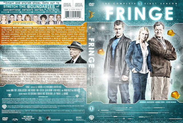 Fringe Season 1 DVD Cover
