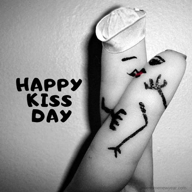 Happy Kiss day Pics