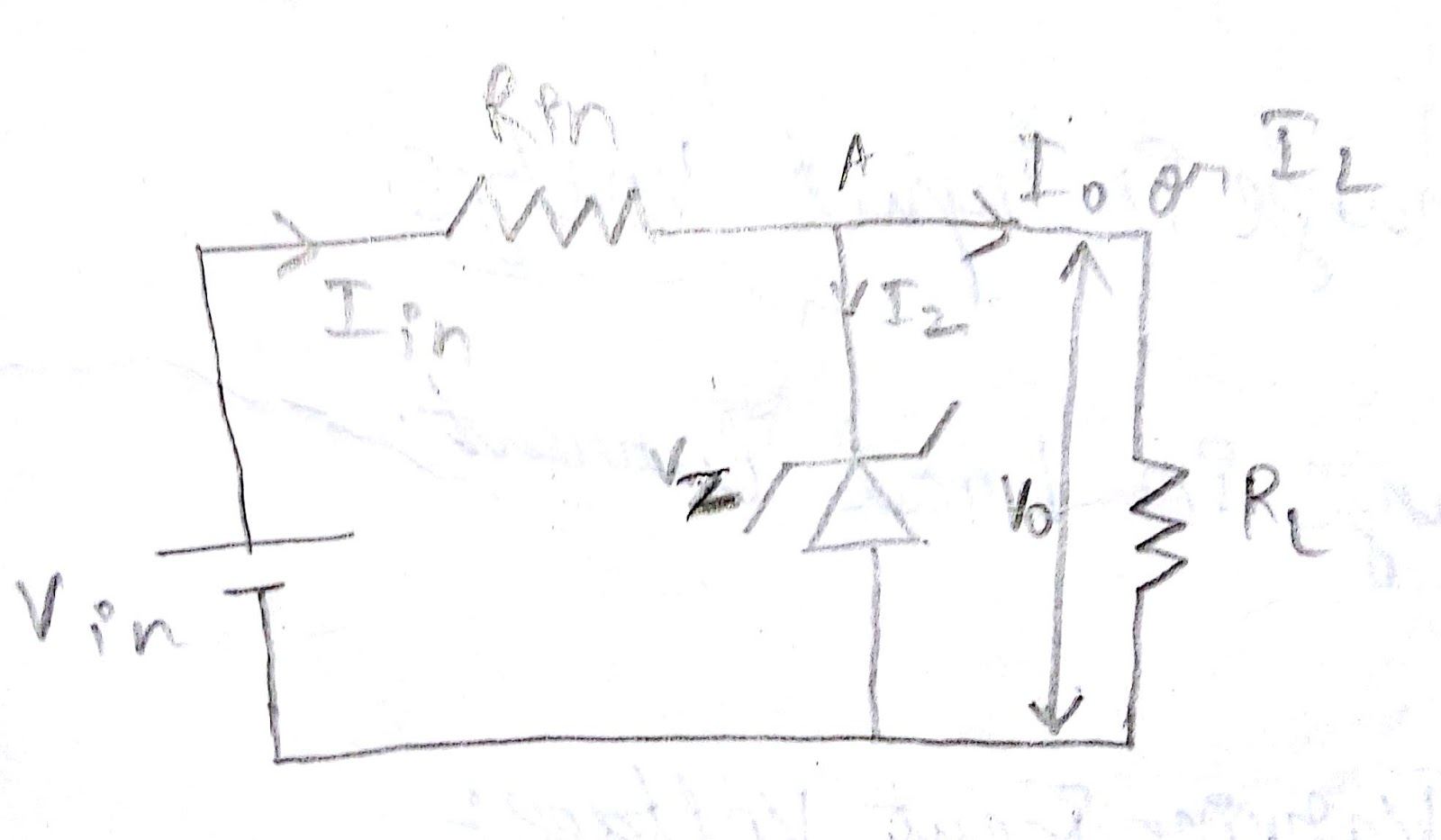 Zener Diode Electrical And Electronics Circuits Consider The Above Circuit Diagram For Better Understanding Actually It Consist Of Two Resistances One Is Input Resistance Ri Other