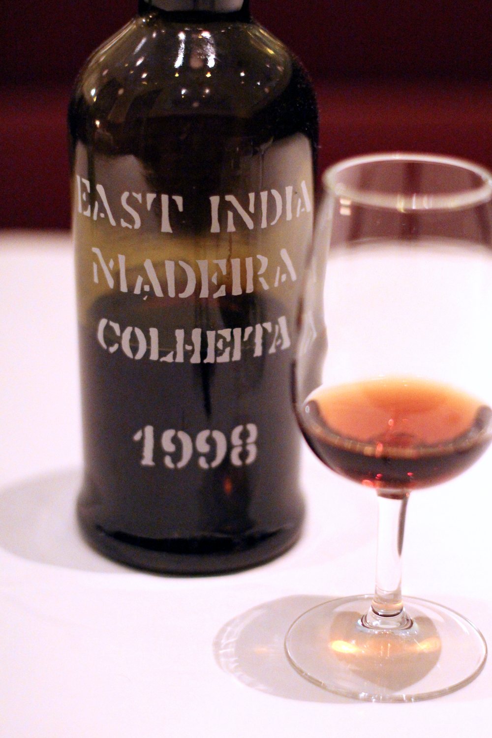 Madeira wine at Brasserie Waszawska, Poland - lifestyle & restaurant blog