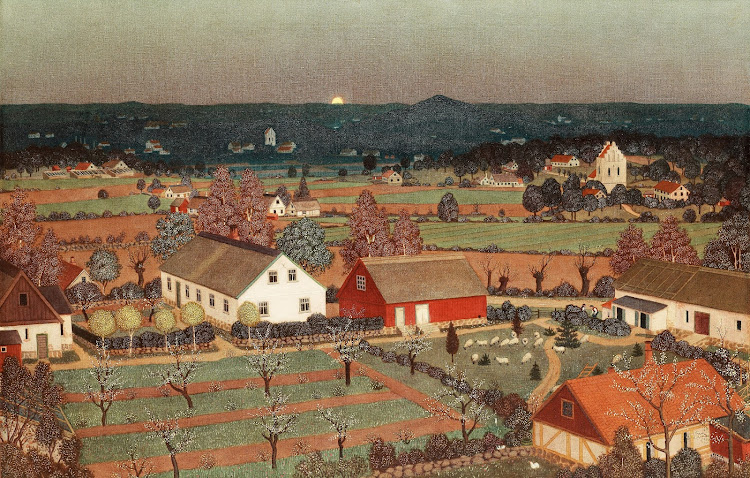 Oskar Bergman - Motiv fran arild