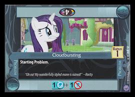 My Little Pony Cloudbursting Premiere CCG Card