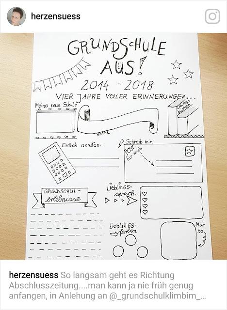 Nett Abschlusszeitung Grundschule Vorlage 0