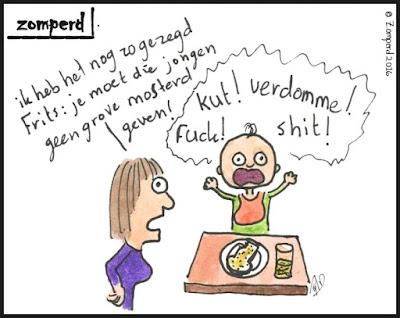 Zomperd - Grove mosterd