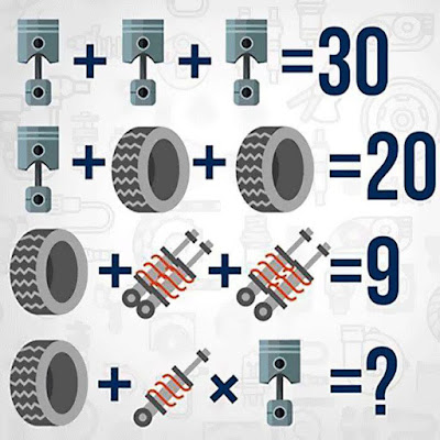 Mathematical Equations Brain Teaser for Students