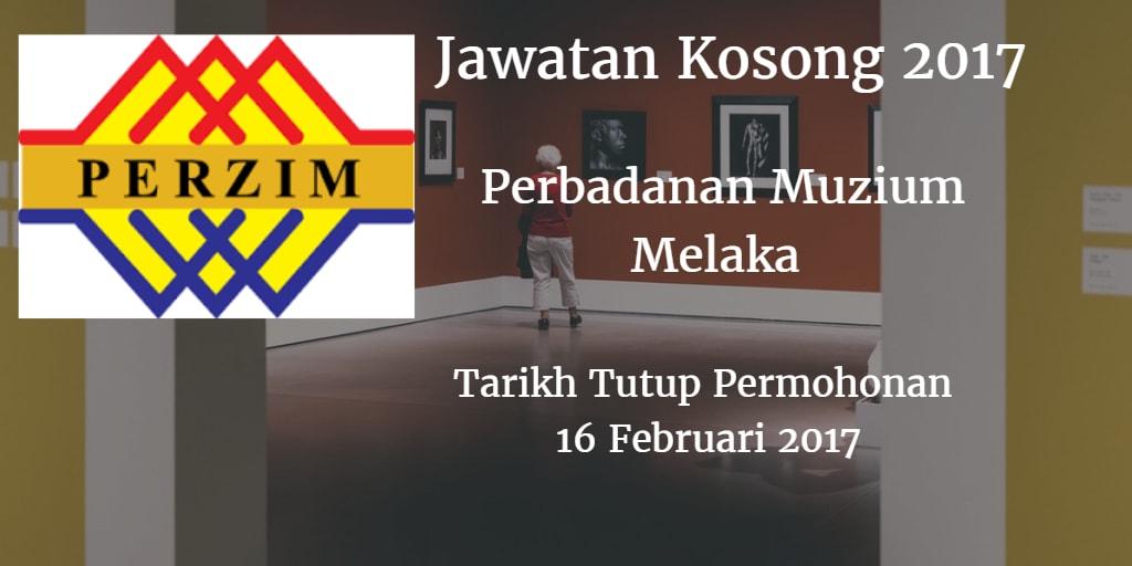 Jawatan Kosong PERZIM 16 Februari 2017