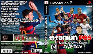 Pes Titaniun Champions League 2015/2016 (PS2)