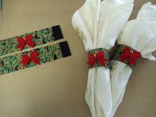 How-to Craft Storable Christmas Napkin Rings