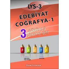Palme LYS 3 Edebiyat Coğrafya 1 3 Çözümlü Deneme Seti (2015)