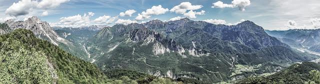 Aussicht Monte Monticello Mountainbike