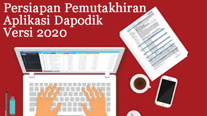 Aplikasi Dapodik Versi 2020