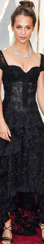 Alicia Vikander 2017 Oscars