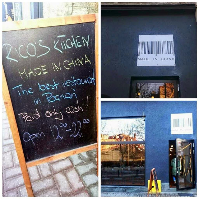Rico's kitchen Made in china