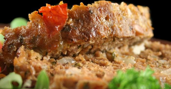 رغيف اللحم على الطريقة الأوروبية