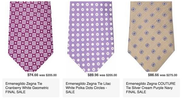 Zegna Neckties