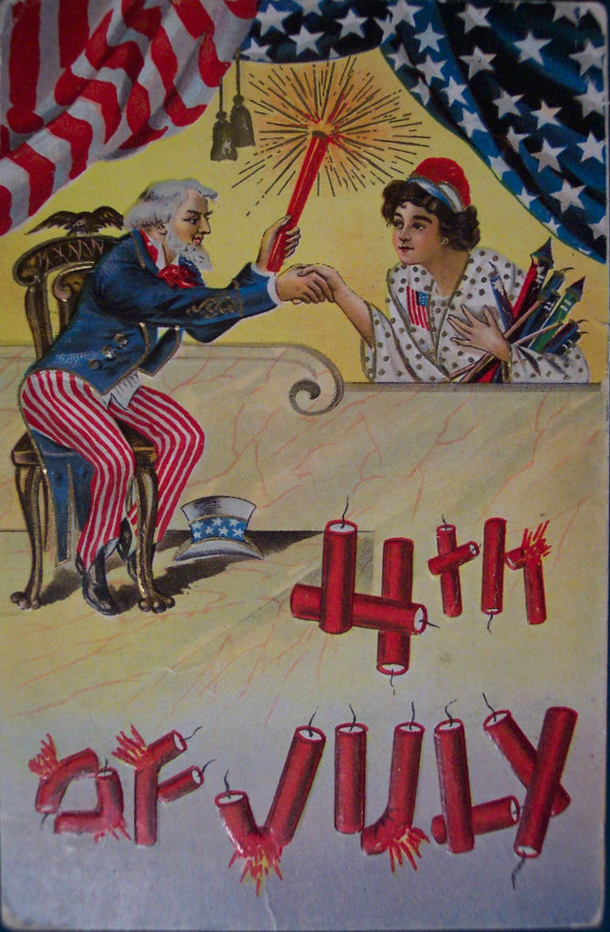 30 Funny Vintage Postcards of the Fourth of July from the