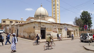 One of the few mosques in Asmara