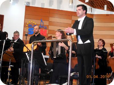 chitara, bandoneon si orchestra de coarde