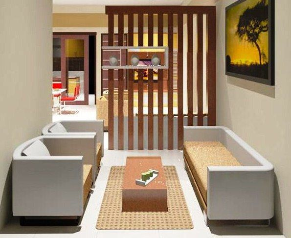 25 desain interior ruang  tamu  rumah minimalis  type  36