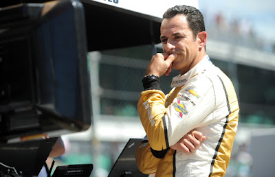Helio Castroneves from Penske