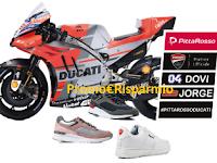 Logo #PittaRossoDucati : vinci gratis il Gran Premio Moto GP Mugello o quello di San Marino
