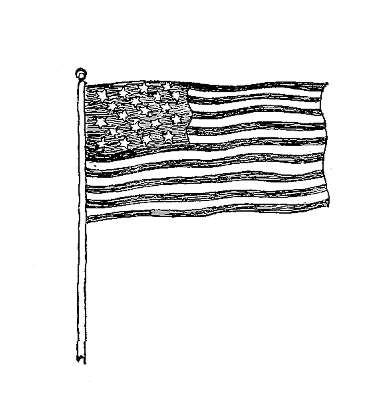 Vintage 4th Of July Clipart