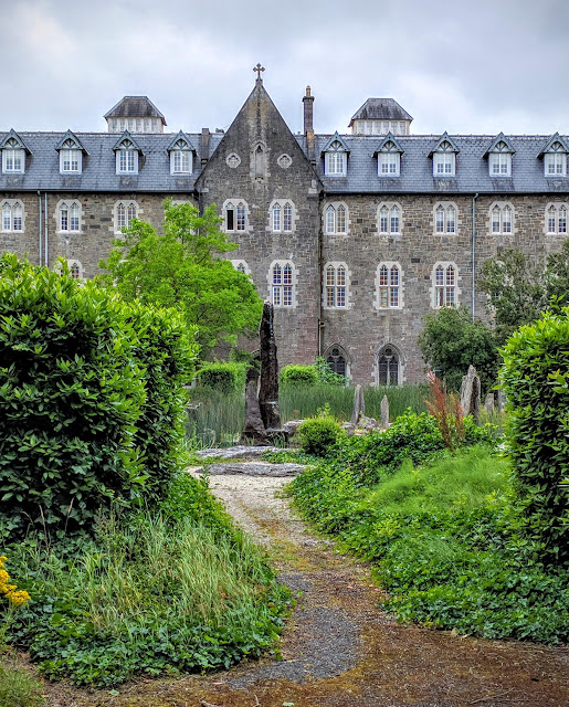 The courtyard garden at St. Patrick's College in Maynooth, Ireland