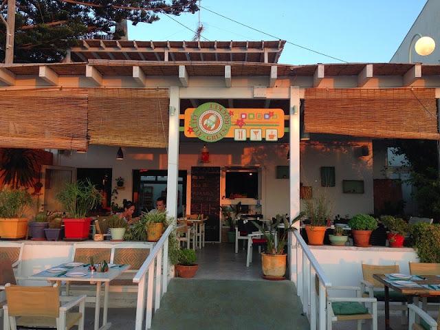 Restaurante Little Green Rocket, Paros