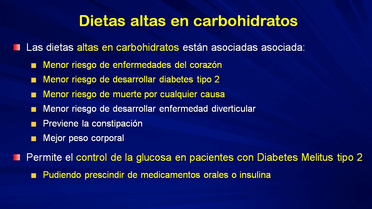 dieta alta en grasas vinculada a la diabetes