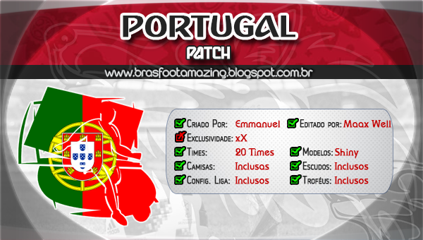 patch para brasfoot 2013 portugal