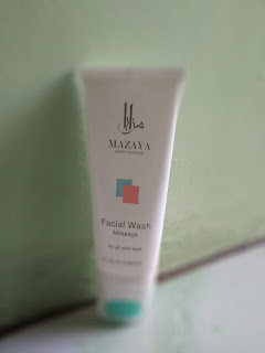 facial wash mazaya