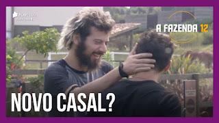 A Fazenda 12 – Cartolouco brinca com Biel após peão dormir com Tays – Rodrigo e JP criticam descontrole